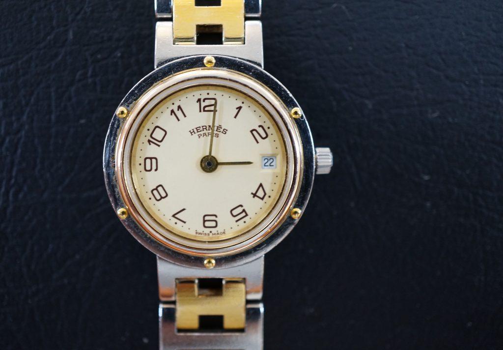 No.509  HERMES(エルメス)クォーツ腕時計を修理しました
