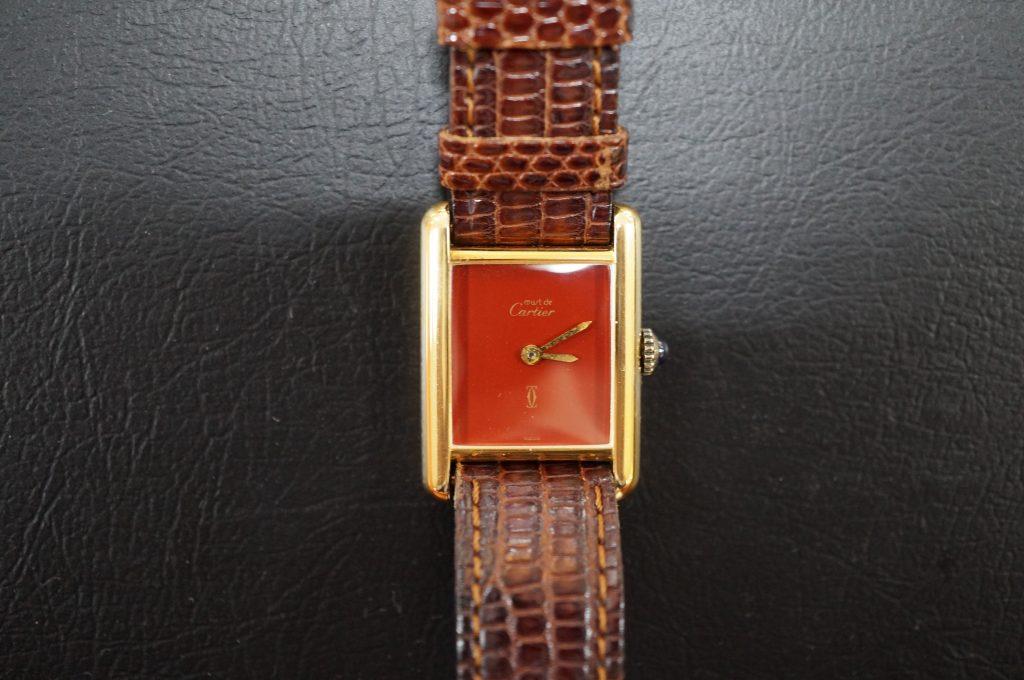 No.537  Carter (カルティエ) クォーツ腕時計を修理しました