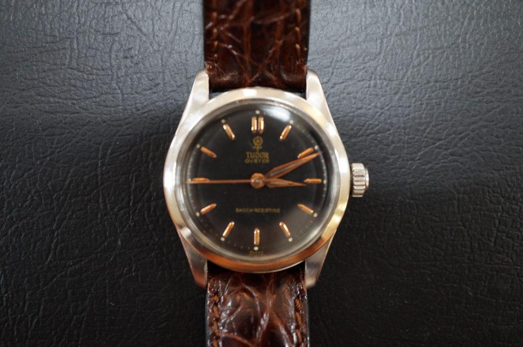 No.535  TUDOR (チュードル) 手巻き腕時計を修理しました