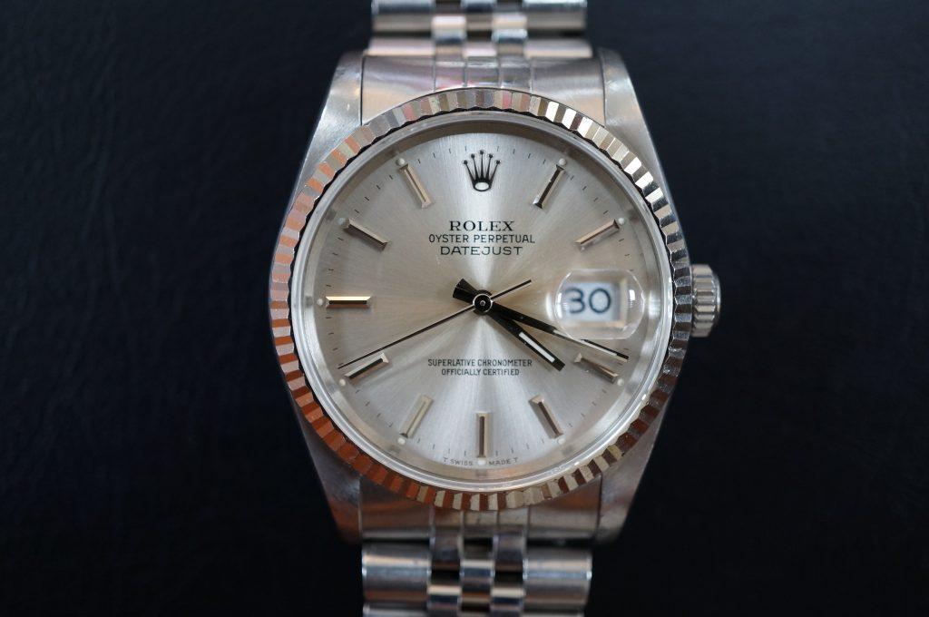 No.534  ROLEX (ロレックス) 自動巻き腕時計を修理しました