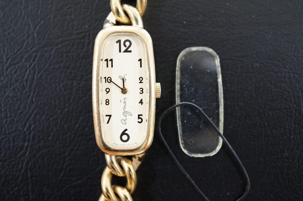 No.534  anies b (アニエスベー) クォーツ腕時計を修理しました