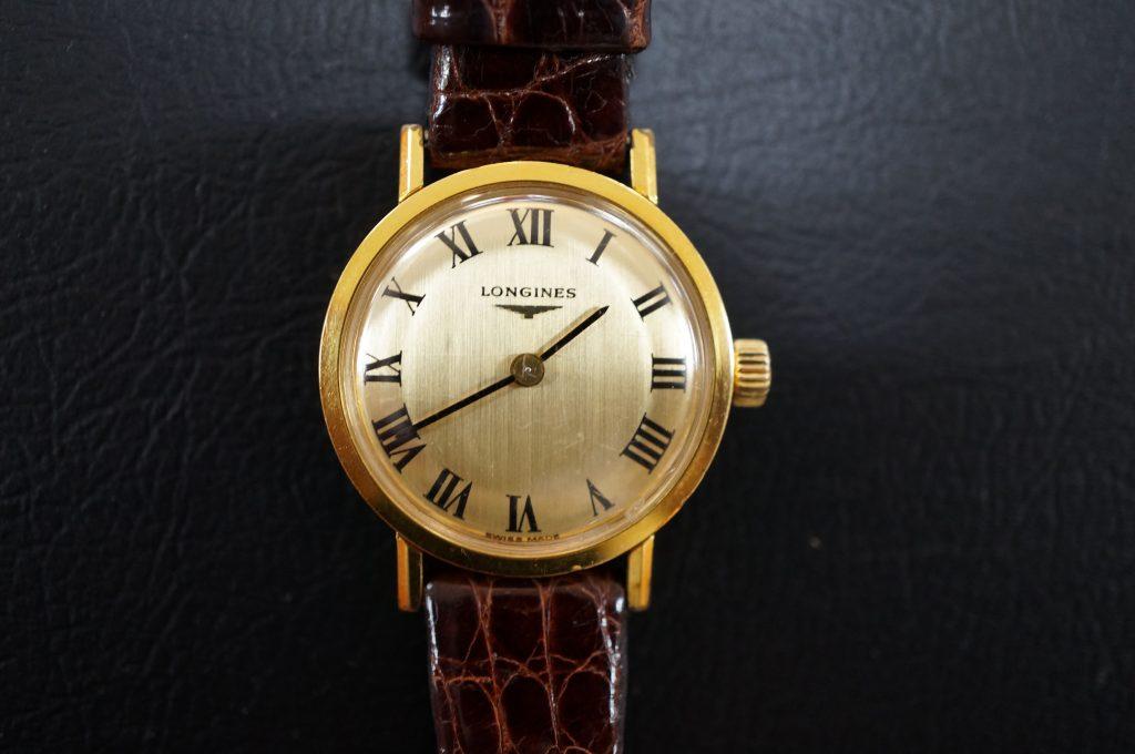 No.532  LONGINES(ロンジン)手巻き腕時計を修理しました