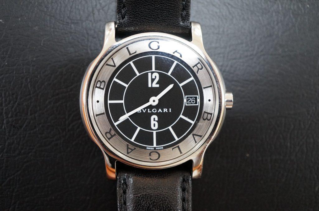 No.531  BVLGARI (ブルガリ) クォーツ腕時計を修理しました