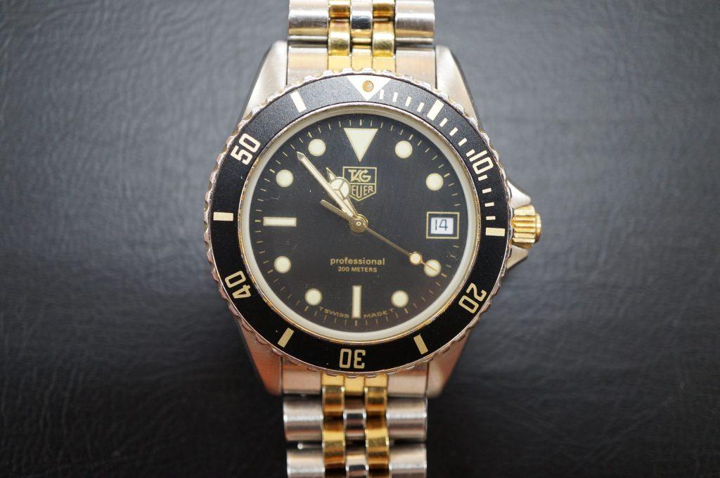No.527  TAG HEUER(タグホイヤー)クォーツ腕時計を修理しました