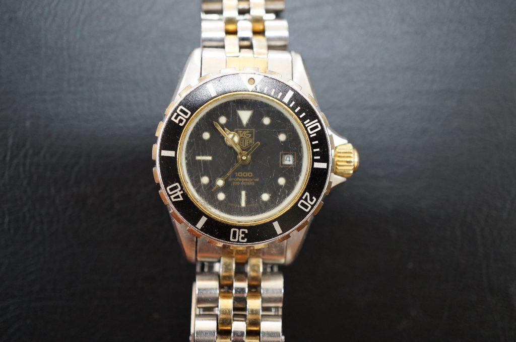 No.528  TAG HEUER(タグホイヤー)クォーツ腕時計を修理しました