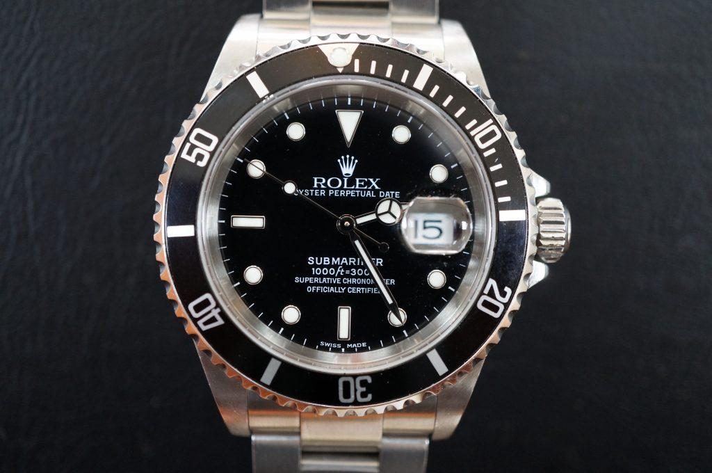 No.524  ROLEX (ロレックス) 自動巻き腕時計を修理しました