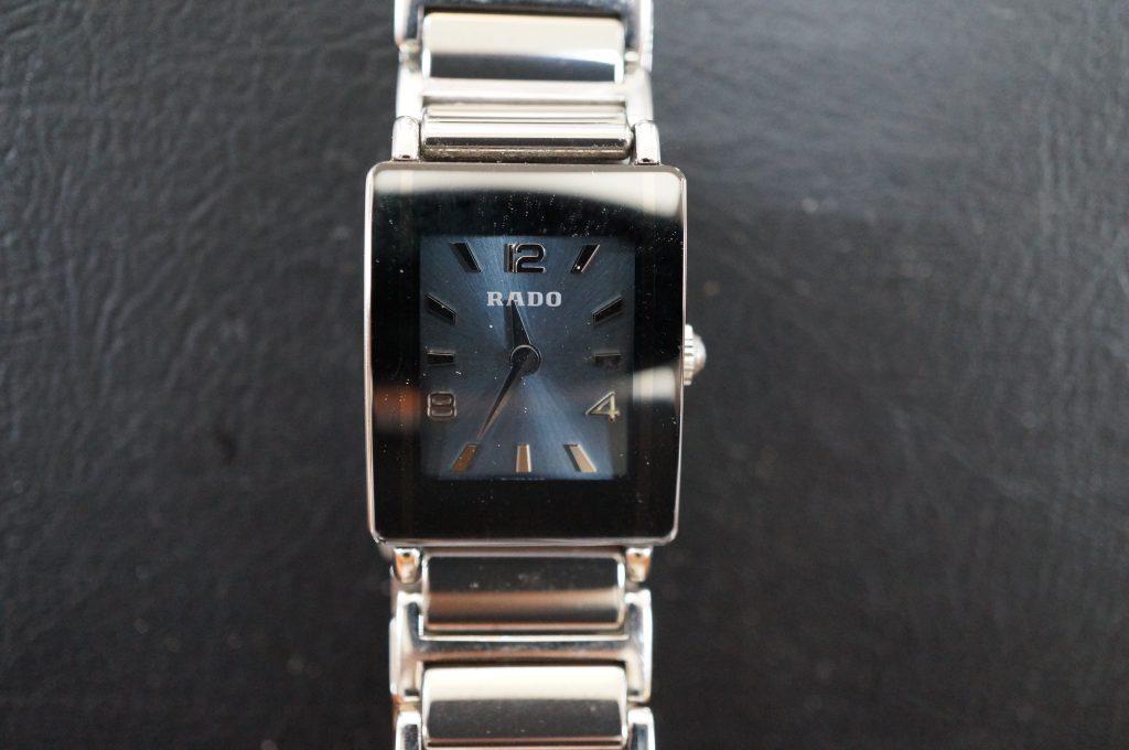 No.523  RADO(ラドー)クォーツ腕時計を修理しました