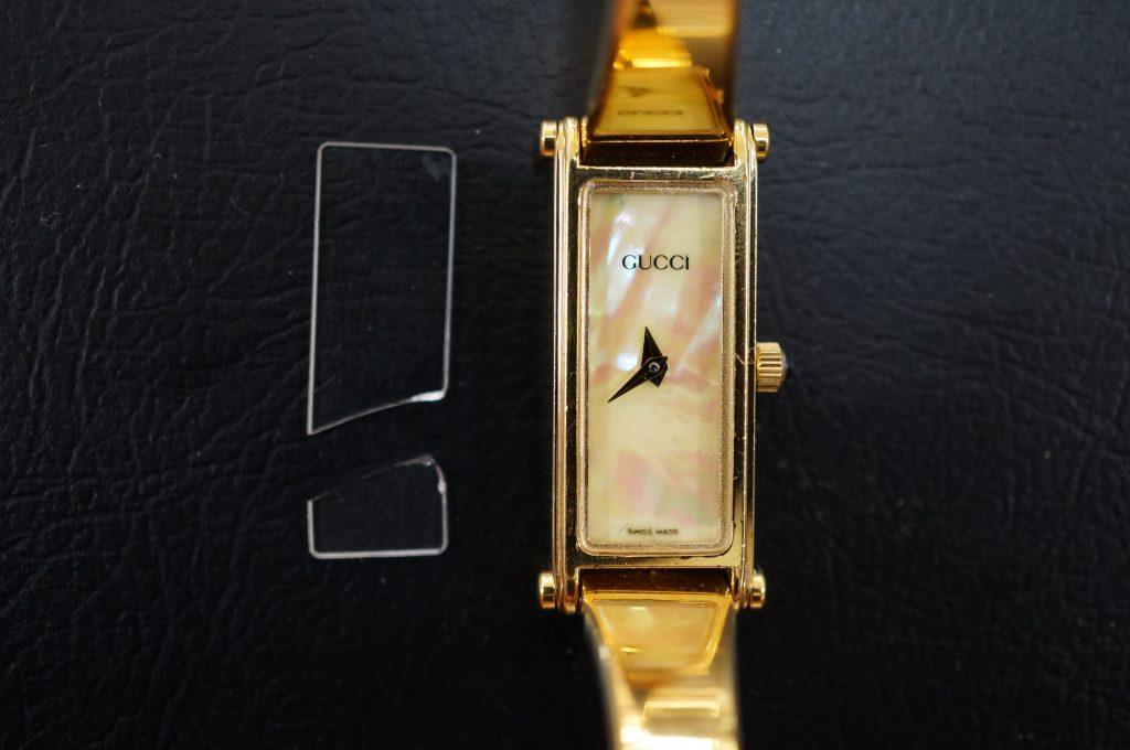 No.521  GUCCI(グッチ)クォーツ腕時計を修理しました