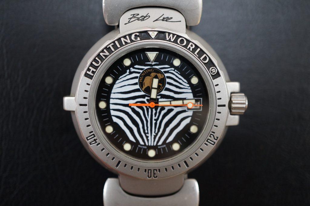 No.519  HANTING WORLD(ハンティングワールド)クォーツ腕時計を修理しました