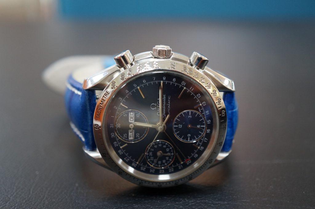 No.518  OMEGA Speedmaster (オメガスピードマスター)自動巻腕時計を修理しました