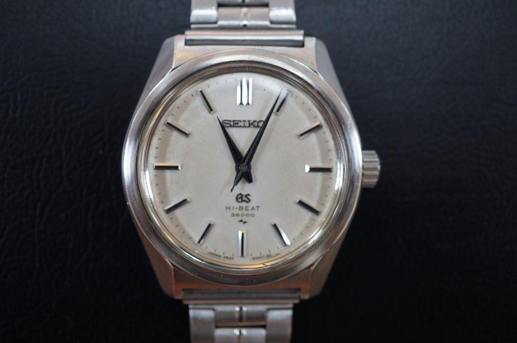 No.517  SEIKO GS (グランドセイコー) 手巻き腕時計を修理しました