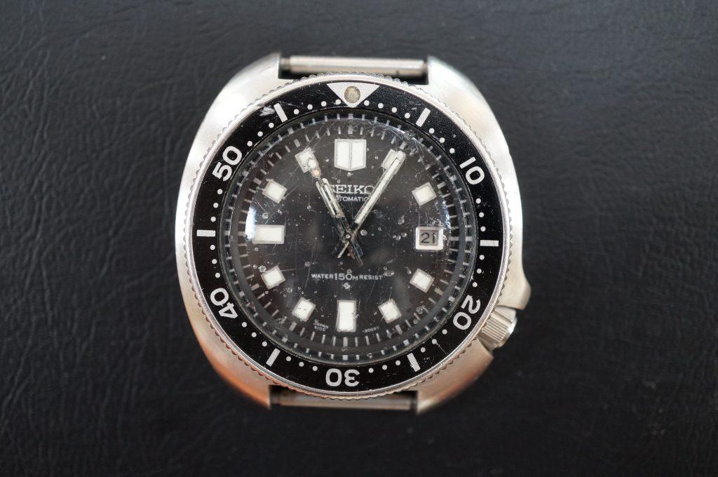 No.516  SEIKO (セイコー) 自動巻き腕時計を修理しました