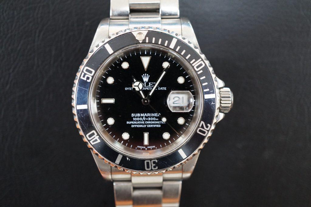 No.515  ROLEX (ロレックス) 自動巻き腕時計を修理しました