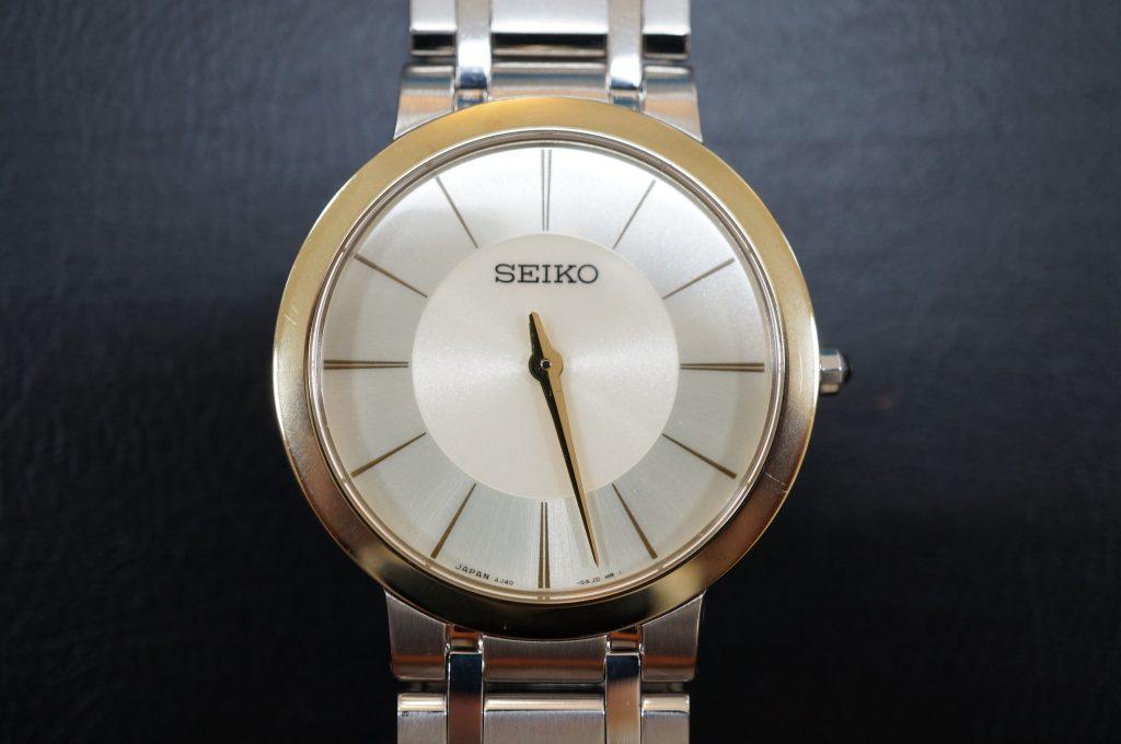 No.550  SEIKO (セイコー) クォーツ腕時計を修理しました