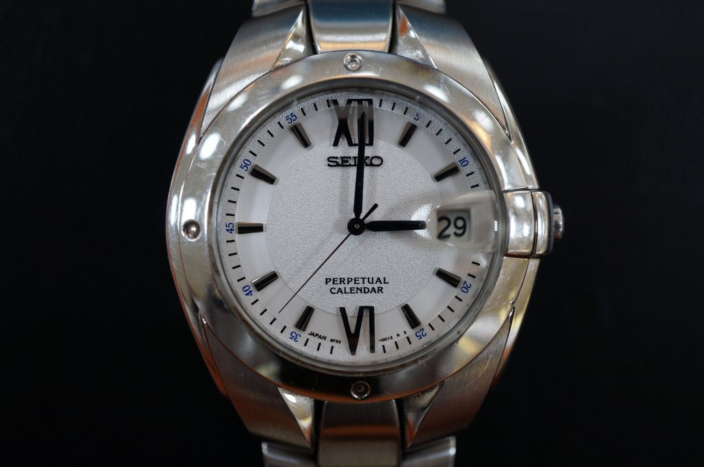 No.549  SEIKO PERPETUALCALENDAR  腕時計を修理しました