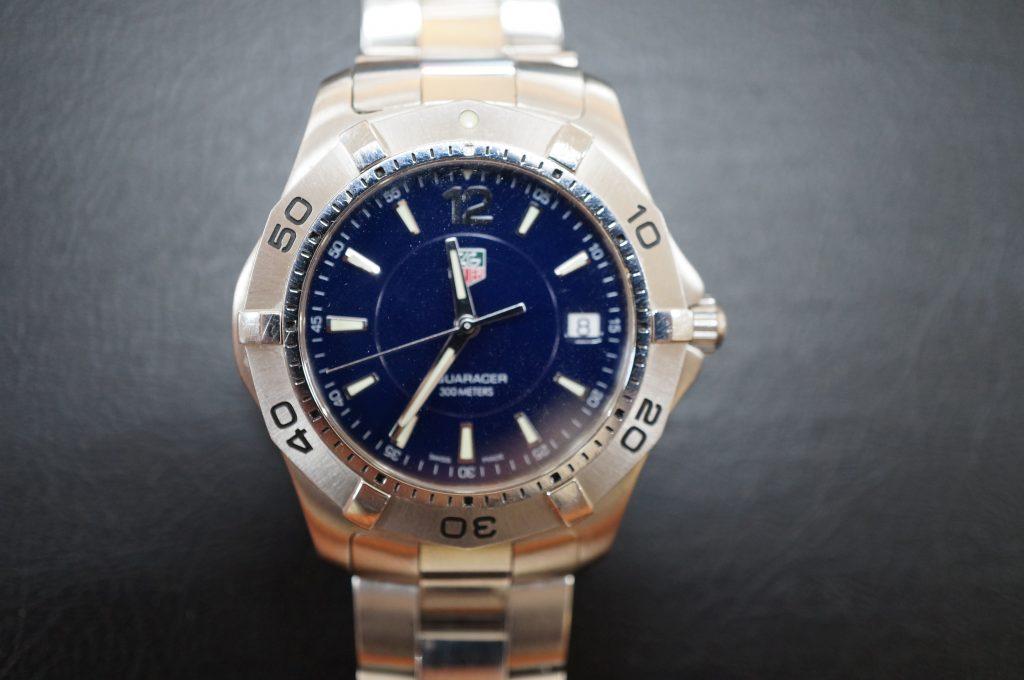 No.545  TAG HEUER (タグホイヤー) クォーツ腕時計を修理しました