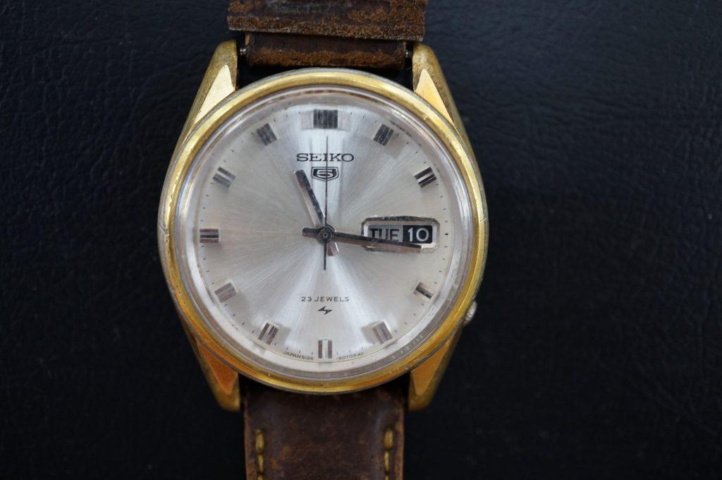 No.543  SEIKO 5 (セイコー5) 自動巻き腕時計を修理しました