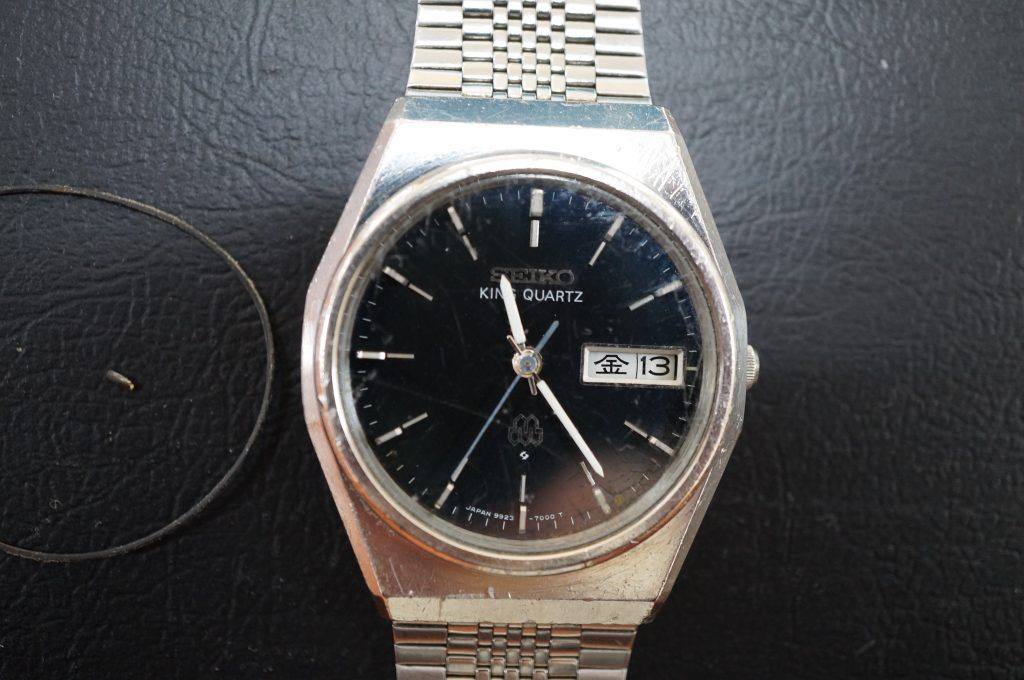 No.542  SEIKO (セイコー) クォーツ腕時計を修理しました