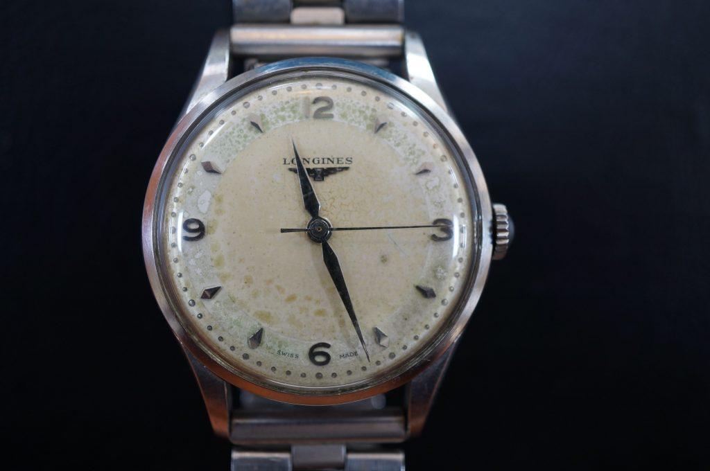 No.541  LONGINES(ロンジン)手巻き腕時計を修理しました