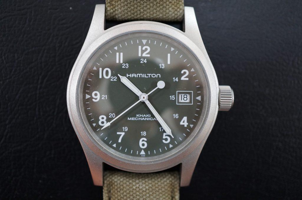 No.538  HAMILTON(ハミルトン) 手巻き腕時計を修理しました