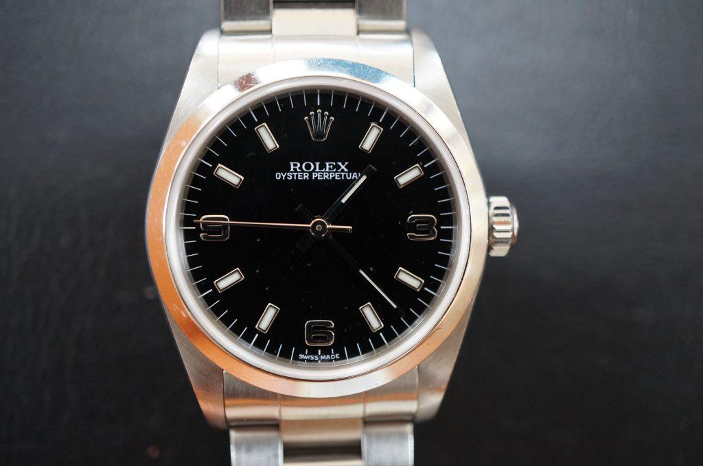 No.566  ROLEX (ロレックス) 自動巻き腕時計を修理しました