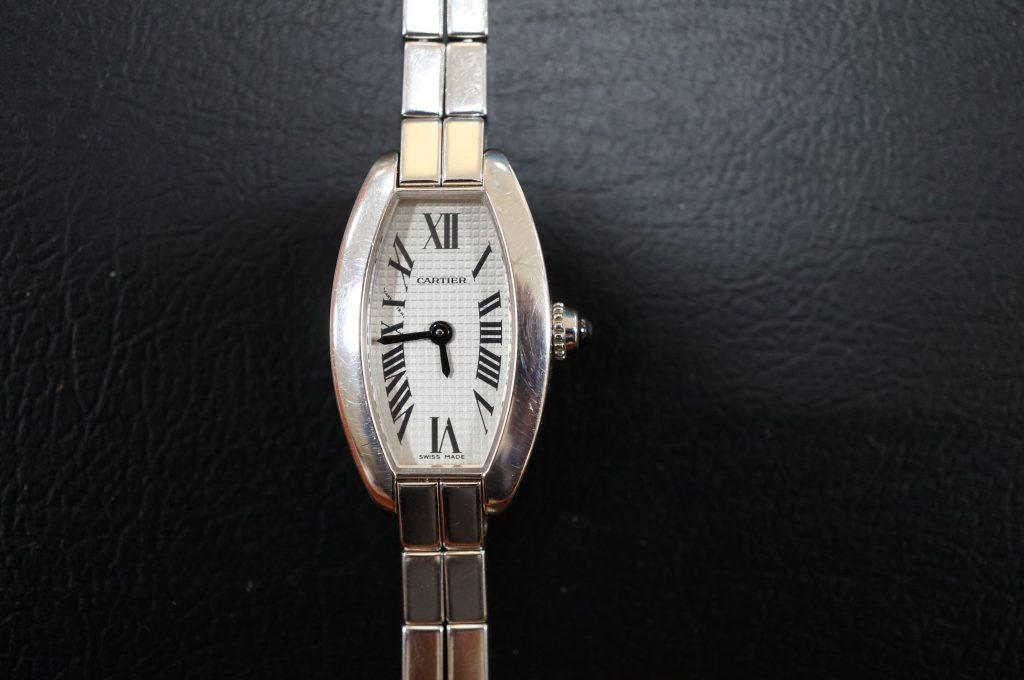 No.564   CARTER (カルティエ)  クォーツ腕時計を修理しました