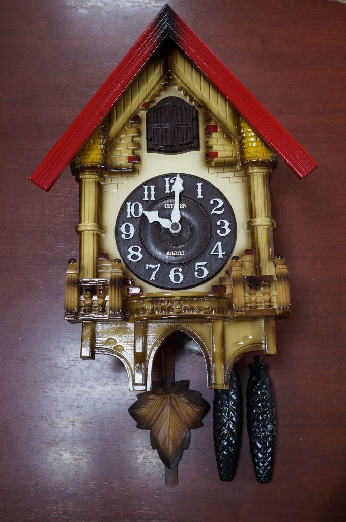 No.560  はと時計を修理しました
