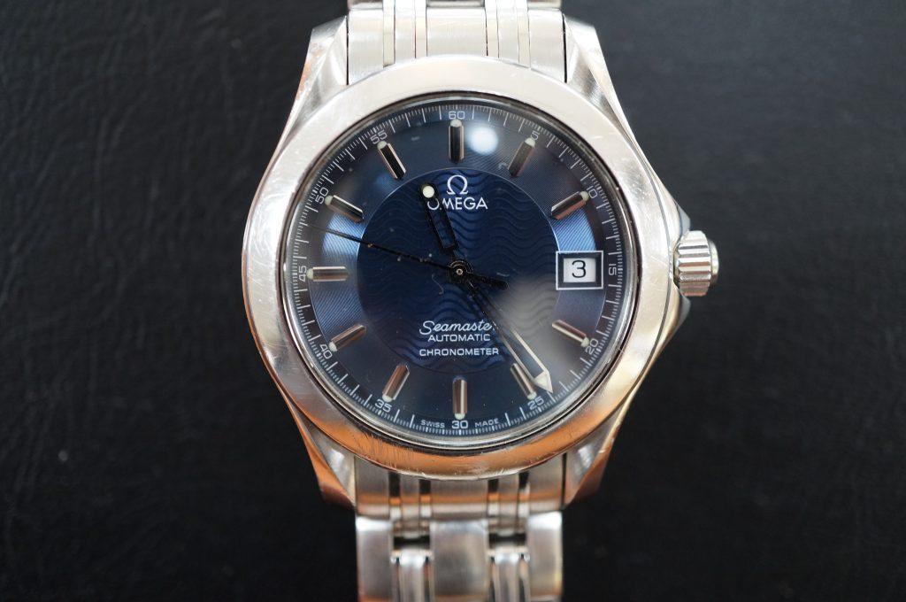 No.558  OMEGA Seamaster (シーマスター)腕時計を修理しました