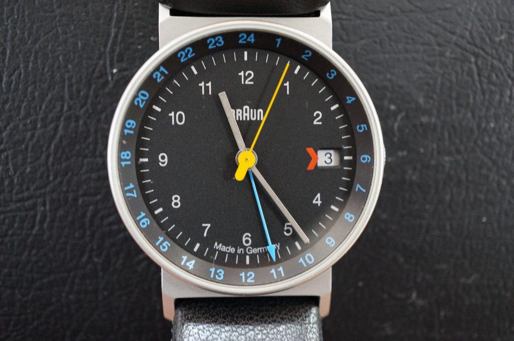 No.557  BRAun (ドイツ製) クォーツ腕時計を修理しました