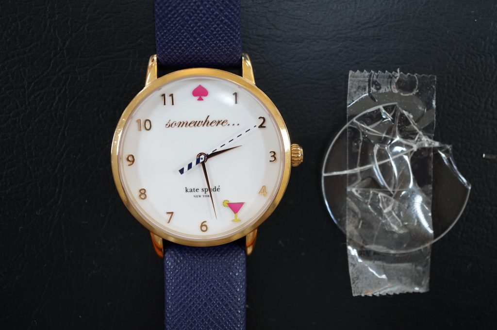No.554  Kate spade クォーツ腕時計を修理しました