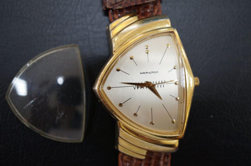 No.628  HAMILTON (ハミルトン) クォーツ腕時計を修理しました