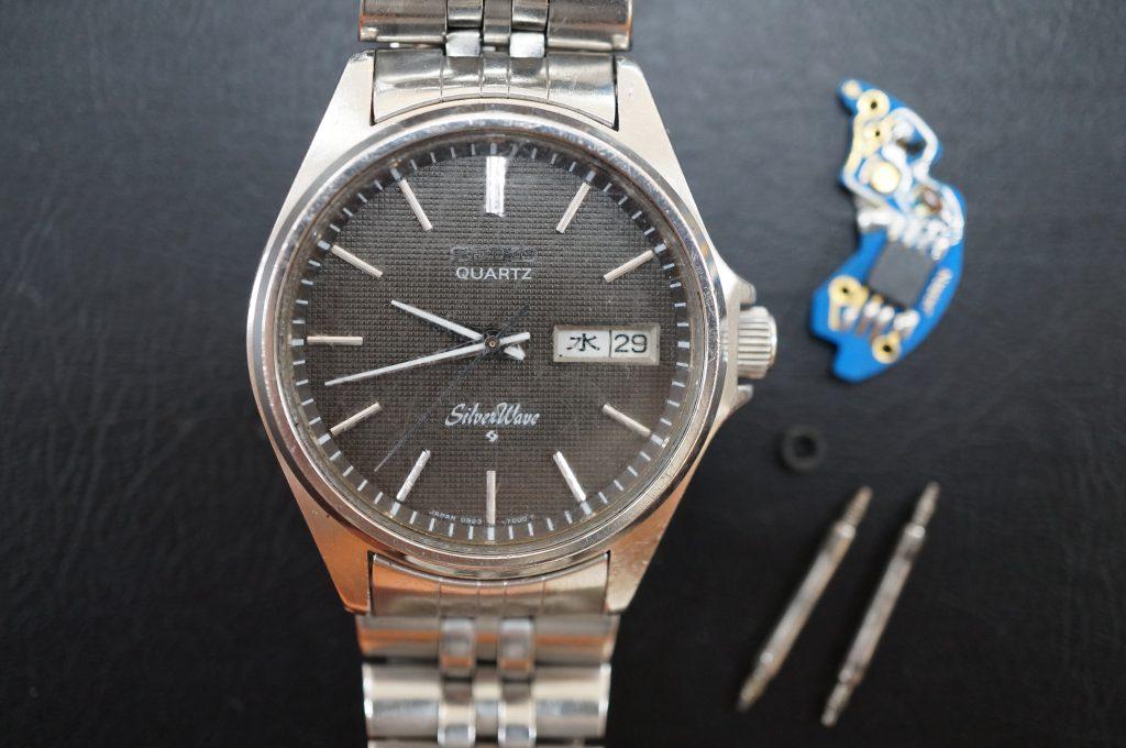 No.626   SEIKO (セイコー) クォーツ腕時計を修理しました