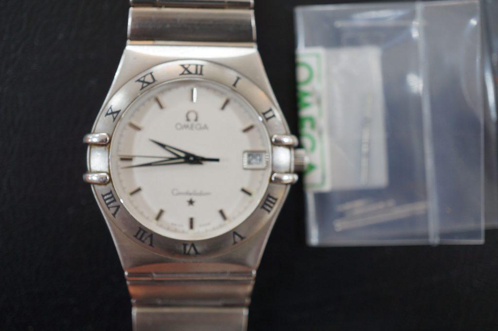 No.627   OMEGA (オメガ )  クォーツ腕時計を修理しました