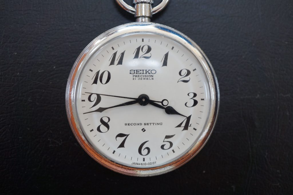 No.625   SEIKO (セイコー) 懐中時計を修理しました