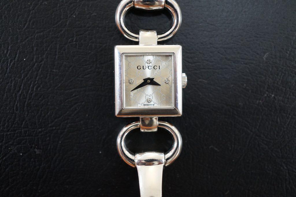 No.623   GUCCI(グッチ) クォーツ腕時計を修理しました