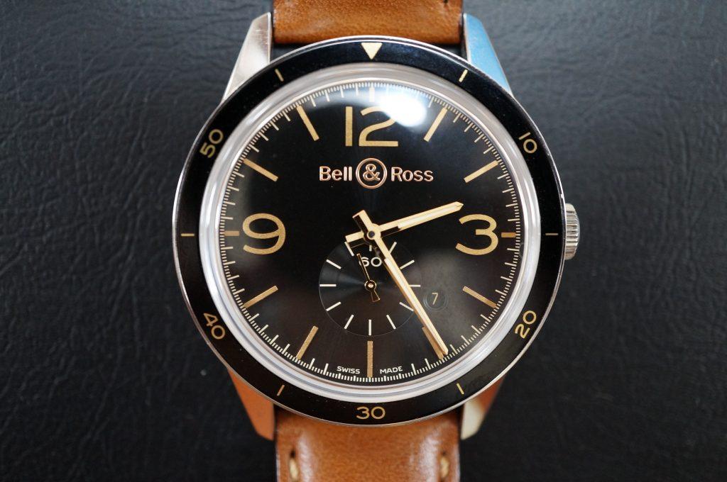 No.622   Bell Ross (ベルアンドロス) クォーツ腕時計を修理しました