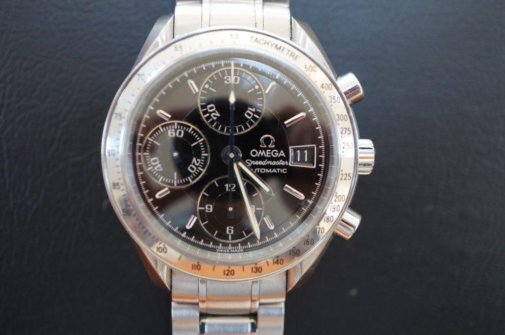No.624  OMEGA Speedmaster (オメガスピードマスター) 自動巻き腕時計を修理しました
