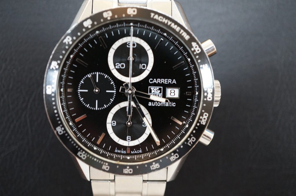 No.617  TAG HEUER CARERERA(タグホイヤー カレラ) クォーツ腕時計を修理しました