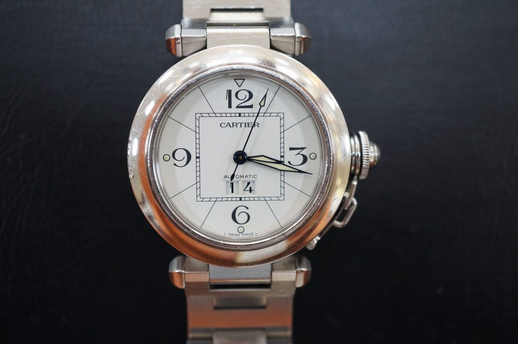 No.616  CARTER (カルティエ パシャ) 自動巻き腕時計を修理しました