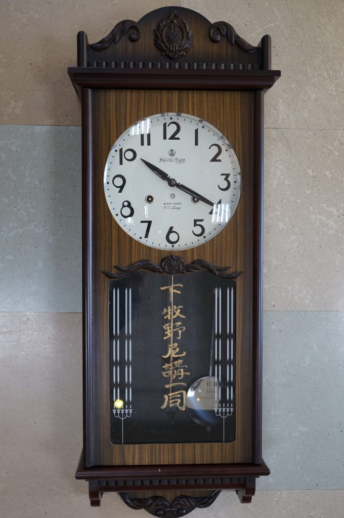 No.613   アイチ柱(ゼンマイ)時計を修理しました