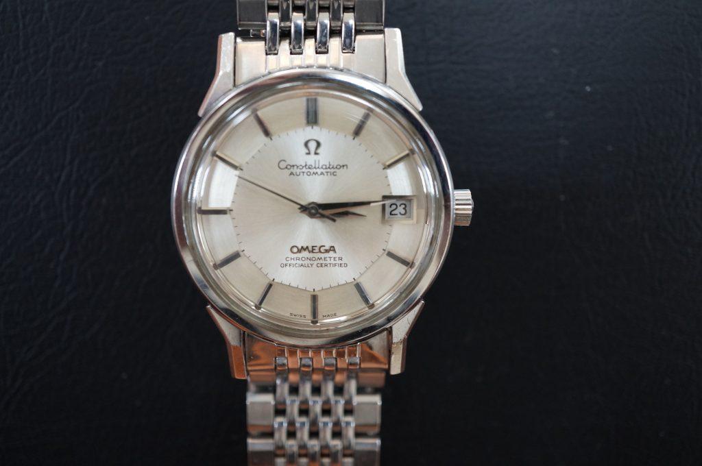 No.607   OMEGA  (オメガ コンステレーション )  自動巻き腕時計を修理しました