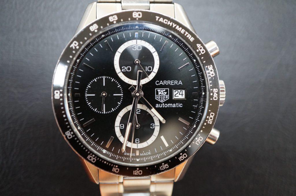 No.582   TAG HEUER (タグホイヤー )  自動巻き腕時計を修理しました