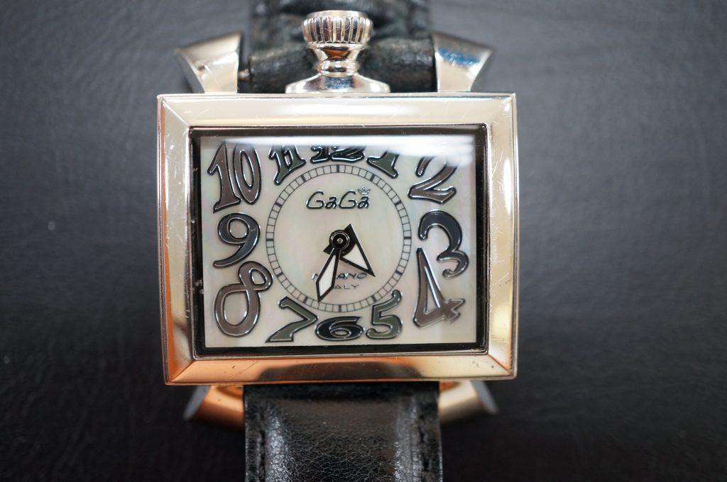 No.604  GaGa (ガガ) クォーツ腕時計を修理しました