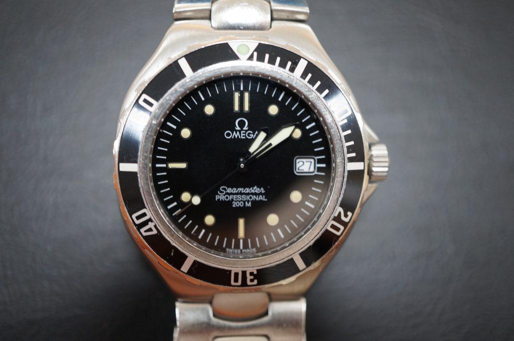 No.601   OMEGA Seamaster (オメガ シーマスター )  クォーツ腕時計を修理しました