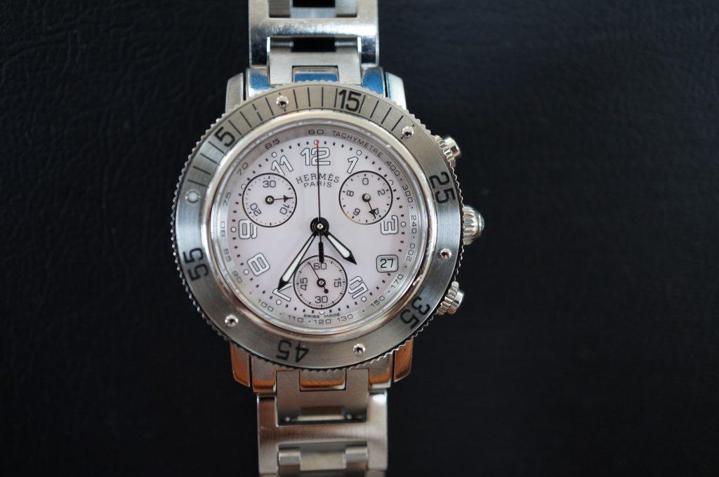 No.603  HERMES (エルメス) クォーツ腕時計を修理しました