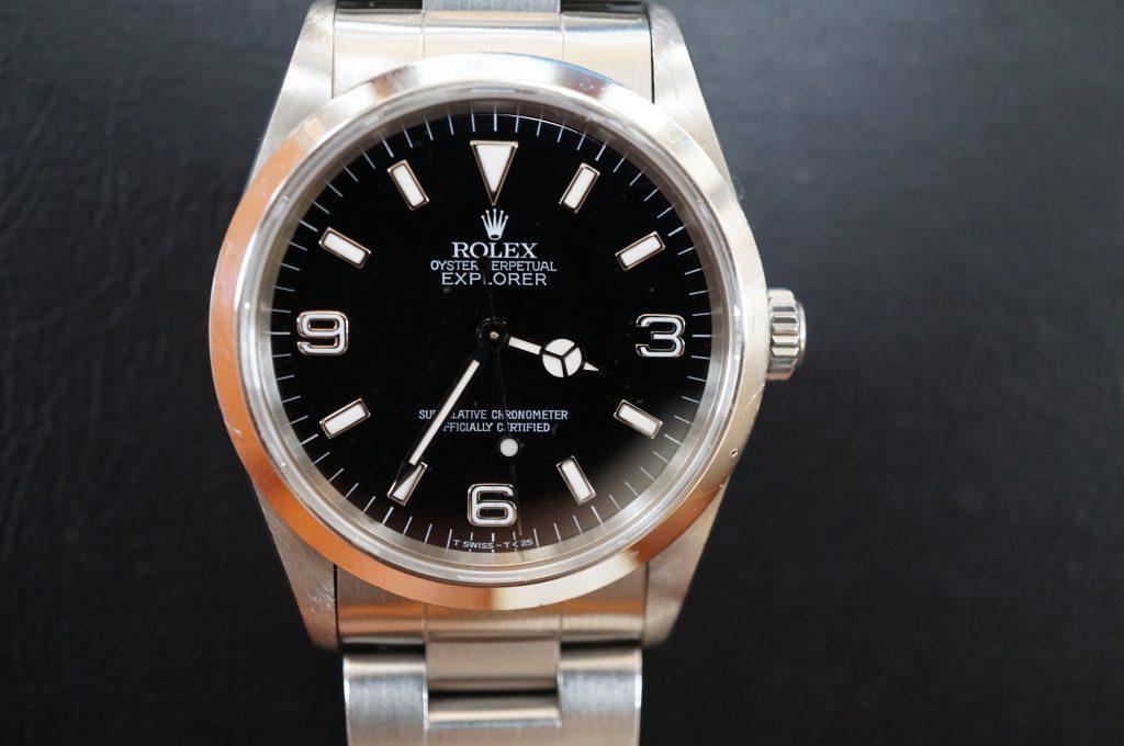 No.602  ROLEX (ロレックス エクスプローラー1) 自動巻き腕時計を修理しました