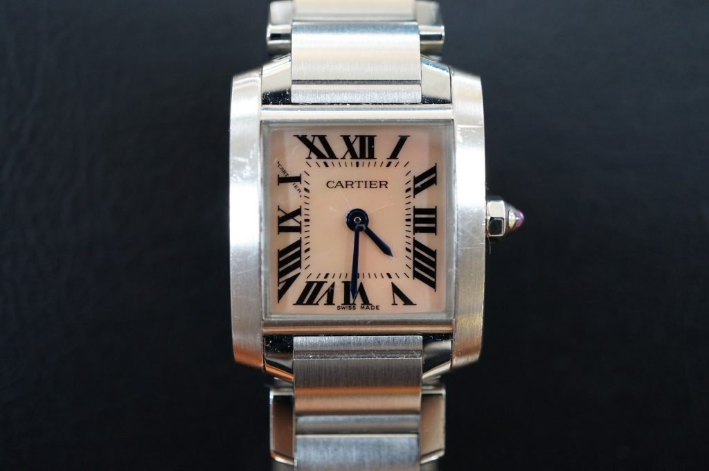 No.583   CARTER (カルティエ )  自動巻き腕時計を修理しました