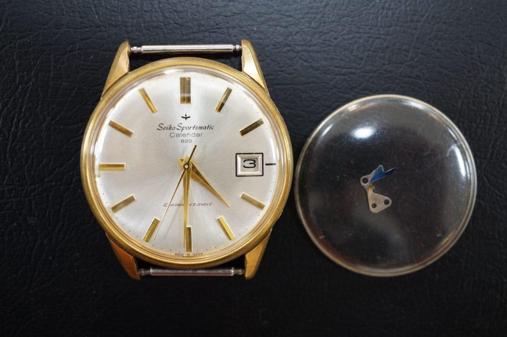 No.584   SEIKO (セイコー )  自動巻き腕時計を修理しました