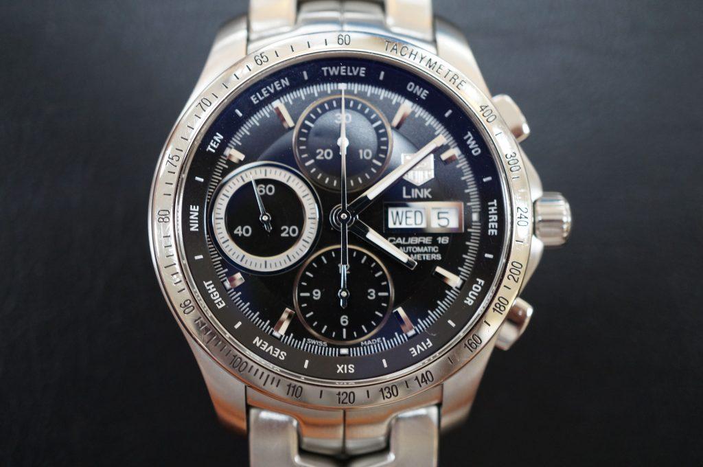 No.605  TAG HEUER  LINK(タグホイヤー リンク) クォーツ腕時計を修理しました