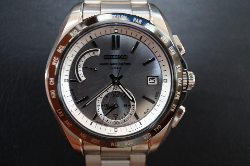 No.581   SEIKO (セイコー) ソーラー電波腕時計を修理しました